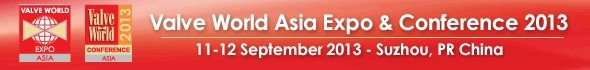 Valve World Asia Expo & Conference 2013