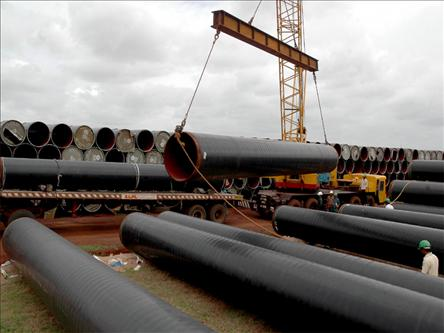 Construction Cost of South Stream Gas Pipe Rising & Construction Cost of South Stream Gas Pipe Rising - Xinhai