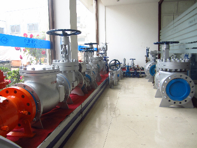 Xinhai Valve Model Showroom