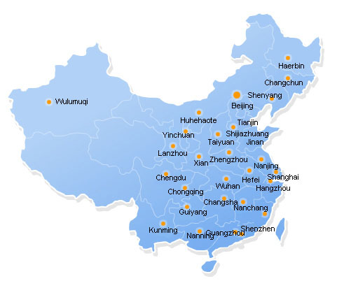 Xinhai Valve Sales Networks - China
