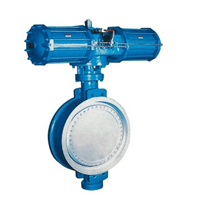 Pneumatic Flange Butterfly Valve