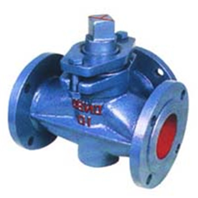 Three-way Cast Iron Plug Valve
