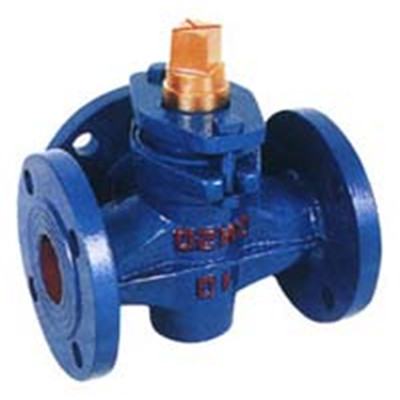 Three-way Copper Core Plug Valve